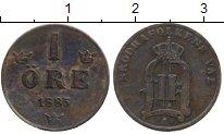 Изображение Монеты Европа Швеция 1 эре 1885 Медь XF-