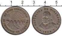 Изображение Монеты Северная Америка Никарагуа 50 сентаво 1954 Медно-никель XF