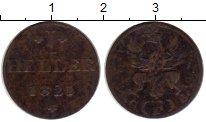 Изображение Монеты Германия Франкфурт 1 геллер 1821 Медь XF-