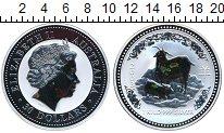 Изображение Монеты Австралия 30 долларов 2003 Серебро Proof Год козы (Серебро 99