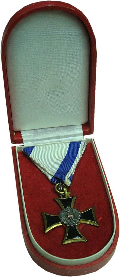 Изображение Значки, ордена, медали Австрия Медаль 0 Бронза UNC За безупречную служб