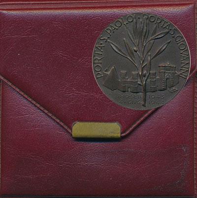 Изображение Значки, ордена, медали Европа Италия Медаль 1964 Бронза UNC