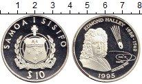 Изображение Монеты Самоа 10 долларов 1995 Серебро Proof-