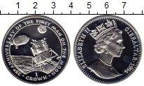 Изображение Монеты Гибралтар 1 крона 1994 Серебро Proof