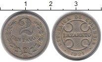Изображение Монеты Южная Америка Колумбия 2 сентаво 1921 Медно-никель XF