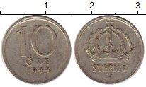 Изображение Монеты Европа Швеция 10 эре 1944 Серебро XF
