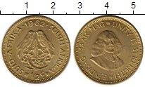 Изображение Монеты Африка ЮАР 1/2 пенни 1962 Латунь UNC-