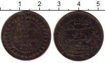 Изображение Монеты Тунис 5 сантим 1914 Бронза VF