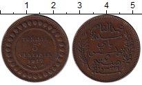 Изображение Монеты Африка Тунис 5 сантим 1917 Бронза XF