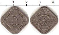 Изображение Монеты Европа Нидерланды 5 центов 1923 Медно-никель VF