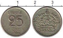 Изображение Монеты Европа Швеция 25 эре 1956 Серебро VF