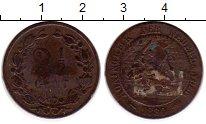 Изображение Монеты Европа Нидерланды 2 1/2 цента 1880 Бронза VF