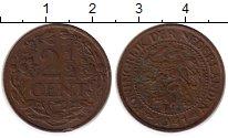 Изображение Монеты Нидерланды 2 1/2 цента 1941 Бронза VF