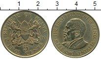 Изображение Монеты Африка Кения 5 центов 1970 Латунь XF