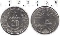 Изображение Монеты Африка Мадагаскар 20 ариари 1978 Медно-никель XF+