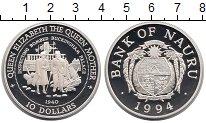 Изображение Монеты Науру 10 долларов 1994 Серебро Proof