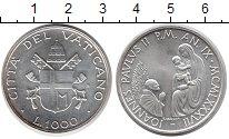 Изображение Монеты Европа Ватикан 1000 лир 1987 Серебро UNC