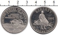 Изображение Монеты США 1/2 доллара 1995 Медно-никель Proof-