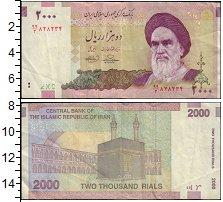 Изображение Банкноты Иран 2000 риалов 0  VF