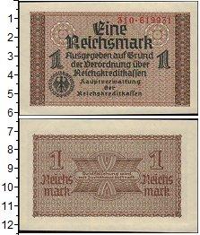 Изображение Банкноты Третий Рейх 1 марка 0  UNC