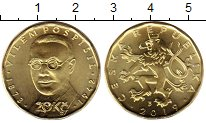Изображение Монеты Чехия 20 крон 2019 Латунь UNC Поспишил