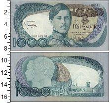 Изображение Банкноты Европа Португалия 1000 эскудо 1982  UNC