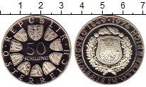 Изображение Монеты Европа Австрия 50 шиллингов 1974 Серебро Proof-