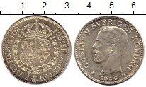 Изображение Монеты Европа Швеция 2 кроны 1936 Серебро XF