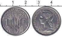 Изображение Монеты Реюньон 1 франк 1948 Алюминий UNC-