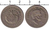 Изображение Монеты Южная Америка Колумбия 20 сентаво 1958 Медно-никель XF