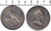 Изображение Монеты Остров Джерси 2 фунта 1987 Медно-никель UNC- 25 лет WWF