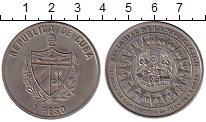 Изображение Монеты Северная Америка Куба 1 песо 2000 Медно-никель UNC-