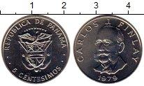 Изображение Мелочь Панама 5 сентесим 1979 Медно-никель UNC