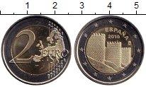 Изображение Мелочь Испания 2 евро 2019 Биметалл UNC