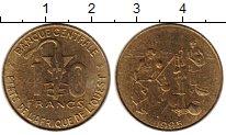 Изображение Монеты Западная Африка 10 франков 1995 Латунь XF