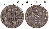 Изображение Монеты Западная Африка 100 франков 1982 Медно-никель XF