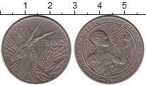 Изображение Монеты Центральная Африка 500 франков 1976 Медно-никель XF
