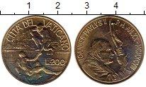 Изображение Монеты Ватикан 200 лир 1998 Латунь UNC