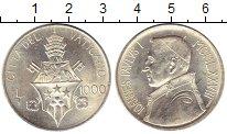 Изображение Монеты Европа Ватикан 1000 лир 1978 Серебро UNC-