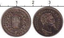 Изображение Монеты Тоскана 50 сентесимо 1860 Серебро XF