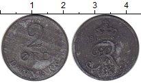Изображение Монеты Дания 2 эре 1968 Цинк XF