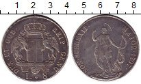 Изображение Монеты Италия Генуя 8 лир 1797 Серебро XF