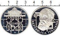 Изображение Монеты Ватикан 10 евро 2008 Серебро Proof
