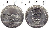 Изображение Монеты Европа Италия 5 евро 2007 Серебро UNC