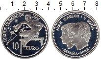 Изображение Монеты Европа Испания 10 евро 2004 Серебро Proof