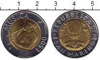 Изображение Монеты Сан-Марино 500 лир 1997 Биметалл UNC