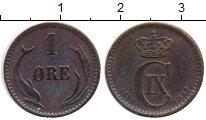 Изображение Монеты Европа Дания 1 эре 1894 Медь XF-