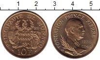 Изображение Монеты Монако 10 франков 1989 Бронза UNC
