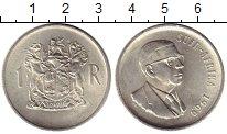 Изображение Монеты Африка ЮАР 1 ранд 1969 Серебро UNC-