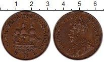 Изображение Монеты ЮАР 1 пенни 1936 Бронза XF